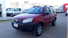 Ford Ecosport 1.6 My10 Xls 4x2 Color Rojo Año 2012