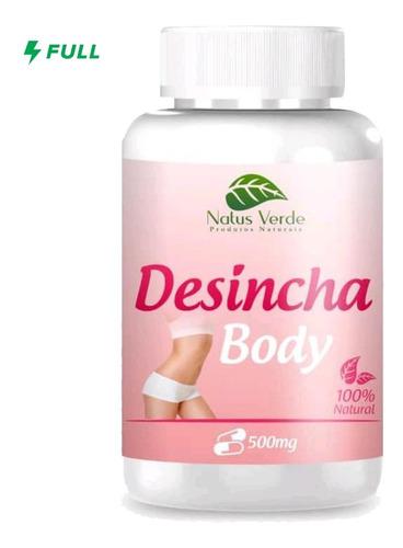 Desincha Body 100 Caps 500mg Acelera Metabolismo - Emagreça
