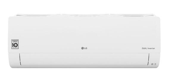 Ar condicionado LG Dual Inverter Voice split quente/frio 12000BTU/h branco 220V S4-W12JA31A