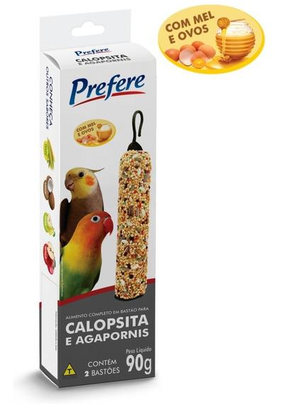 Bastão P/ Calopsita E Agapórnis 20 Caixas C/ 2 Un Prefere