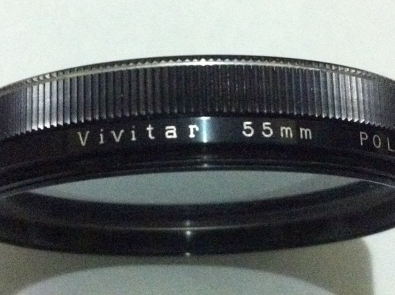 Filtro Vivitar 55mm Polarizing Japan
