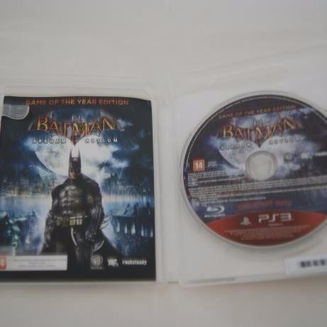 Jogo Ps3 - Batman Arkham Asylum