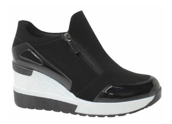 Tênis Feminino Plataforma E Anabela Sneakers Quiz 67-37923