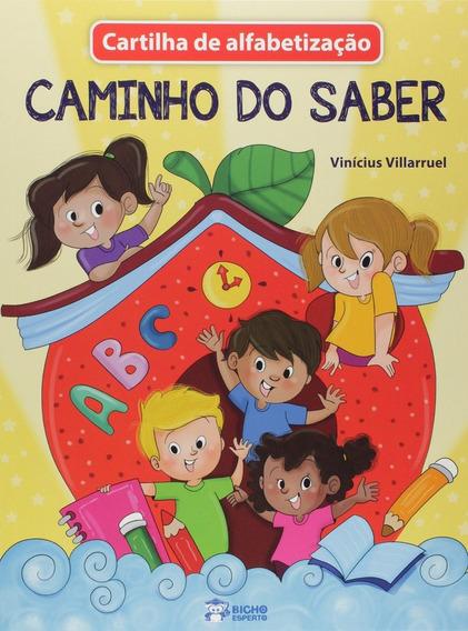 Livro Cartilha De Alfabetizacao - Caminho Do Saber
