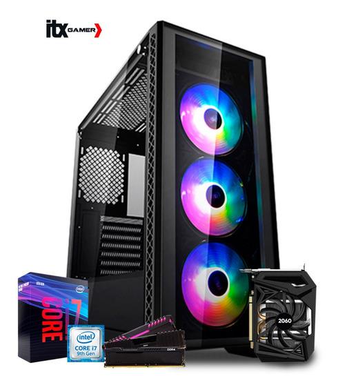 Pc Gamer I7 9700k (rtx 2060) 16gb/ Hd 1tb / Water/ 600w