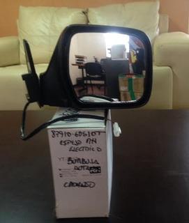 Espejo Retrovisor Autana Burbuja Vx Cromado Derecho Elec.