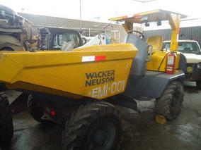 Dumper Articulado, Marca Wacker Neuson Modelo Rexco 3007s