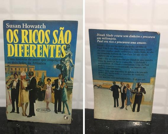 Livro Os Ricos São Diferentes - Susan Howatch.