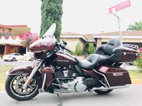 Harley-davidson Ultra Limited 2018 Nueva ¡¡ 6mil Km Posibe C