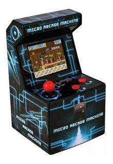 Mini Consola Arcade Retro 200 Juegos A Color Ideal Niños