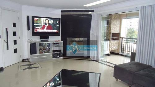 Imagem 1 de 30 de Apartamento À Venda, 129 M² Por R$ 1.150.000,00 - Jardim Anália Franco - São Paulo/sp - Ap1446