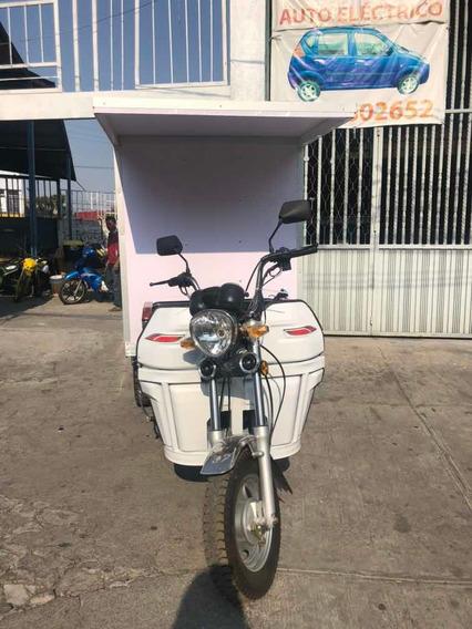 Moto Carro Trimoto 150cc Caja Seca Puerta Trasera C/cachucha