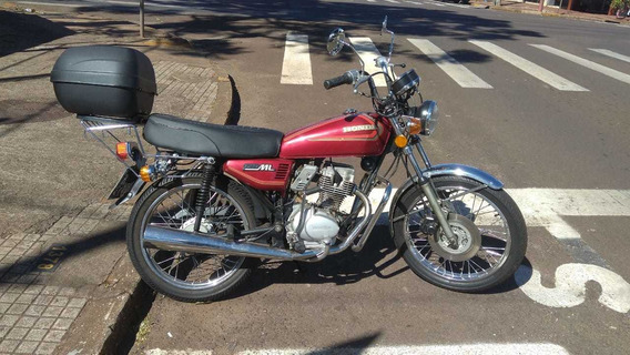 Honda Cg Ml 125 - 1982 - Vermelha