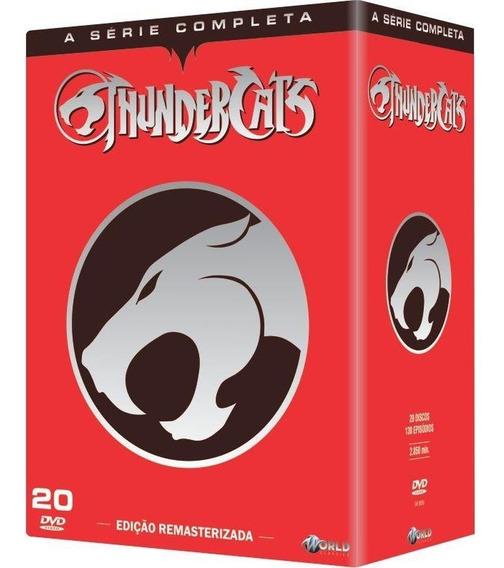 Box Dvd Thundercats - Série Completa 20 Discos