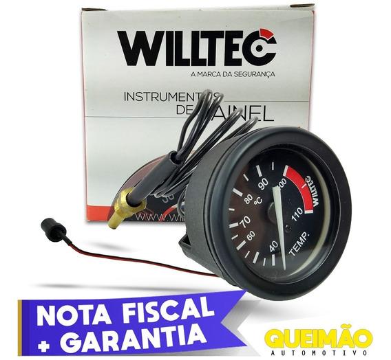 Termômetro Mecânico De Água 40°-100°c Automotivo Willtec