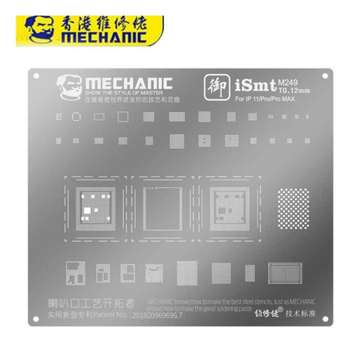 Stencil Merchanic iPhone 11/pro/pro Max