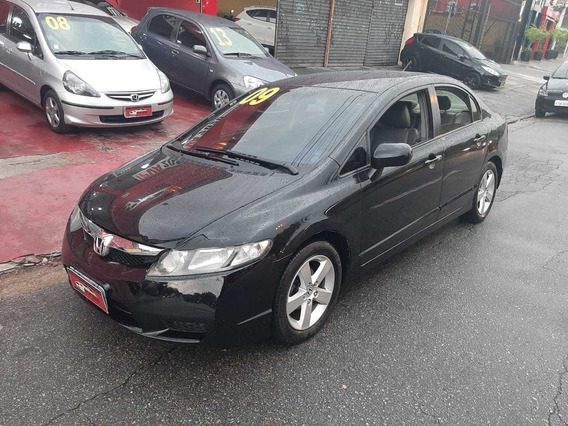 Honda Civic 2009 1.8 Lxs Flex Aut. 4p