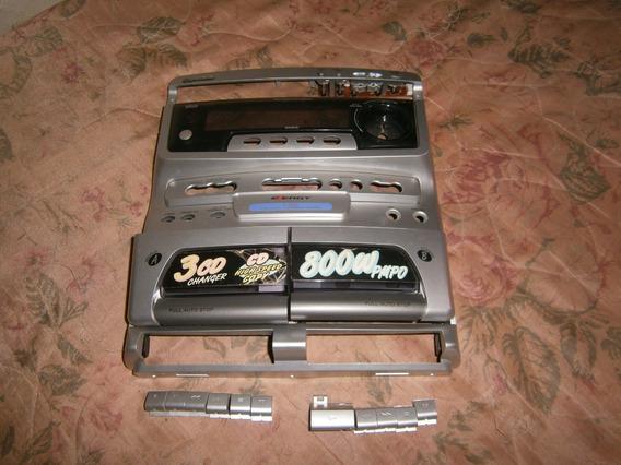 Painel Frontal Gradiente E 600 Com Tampas E Botões Fitas