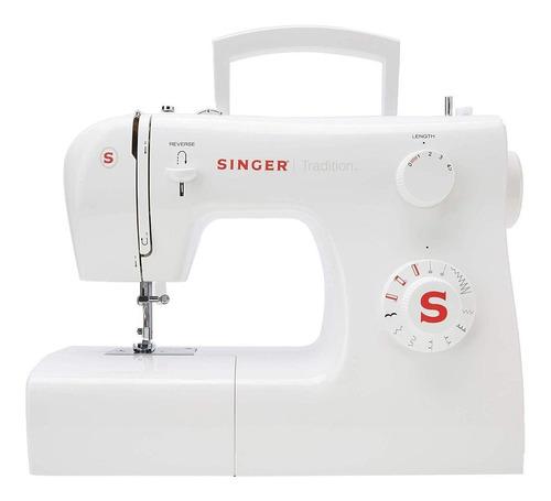 Imagen 1 de 3 de Máquina de coser recta Singer Tradition 2250 portable blanca 220V