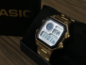 Relógio Casio Mund Dourado