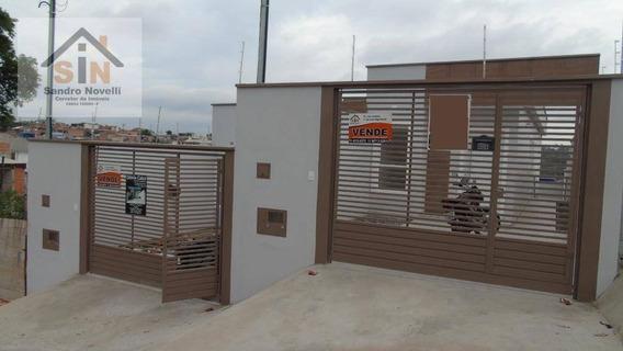 Casa Com Fachada Moderna Com 2 Dormitórios Em Itaquaquecetuba. - Ca0043