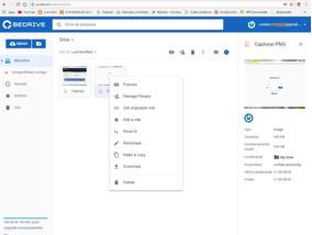 Script Php Google Drive Clone - Bedrive