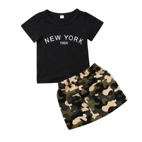 Conjunto De Menina Fashion Infantil Verão Lindo