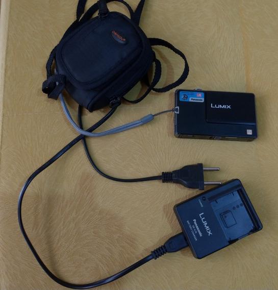 Câmera Digital Lumix - Panasonic - 12 Mega Pixels