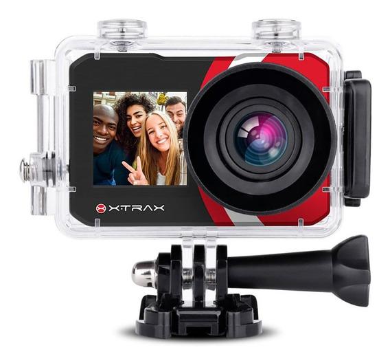 Câmera De Ação Xtrax Selfie 4k Esportes Radicais