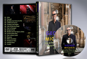 Dvd George Michael - The Palais Garnier Opera House 2014