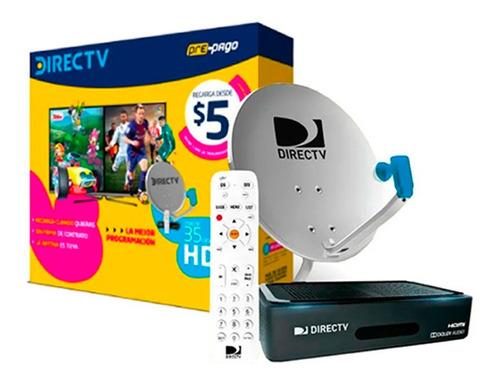 Directv Pre Pago Kit Canalera Hd + Antena   Xenex  