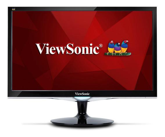 Monitor Viewsonic 24 Pulgadas Led Full Hd Hdmi Vga Dvi