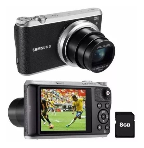 Câmera Digital Samsung Smart Wb350f 16.3mp Óptico 21x Wifi