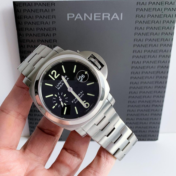 Panerai Luminor Marina Automático Full Steel Completo 44mm