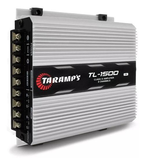Modulo Taramps 1500 390w Rms Tl1500 3 Canais Amplificador--