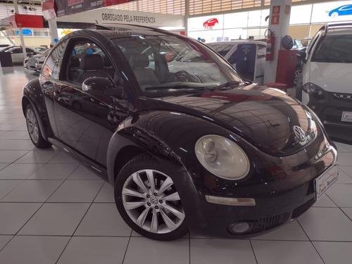 Vw New Beetle Top Couro Teto Aut Aerofolio Rodas Amarok 07
