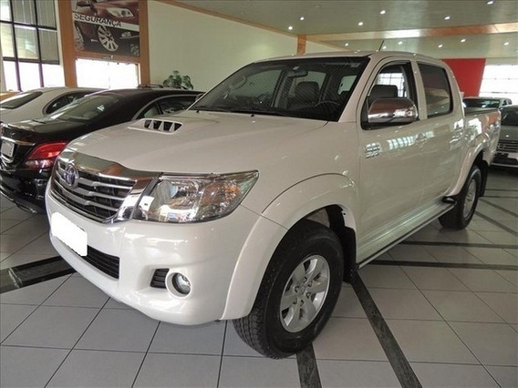 Toyota Hilux 3.0 Srv Branco 4x4 Cd Tdi 4p Aut. 2014