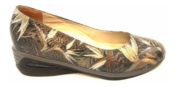 Zapato Mocasin Cuero Mujer Art 102. Marca Modigliani