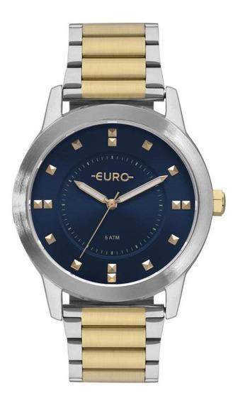 Relógio Euro Feminino Analógico Versátil Casual Dia A Dia