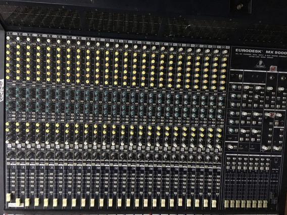 Mesa De Som Behringer Eurodesk Mx9000