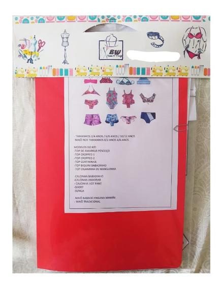 Moldes Para Confecção De Biquinis Infantins Kit