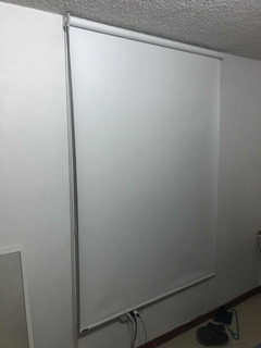Persianas Enrollable Marca Mirage Color Blanco