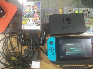 Nintendo Switch Más 1 Juego Fisico