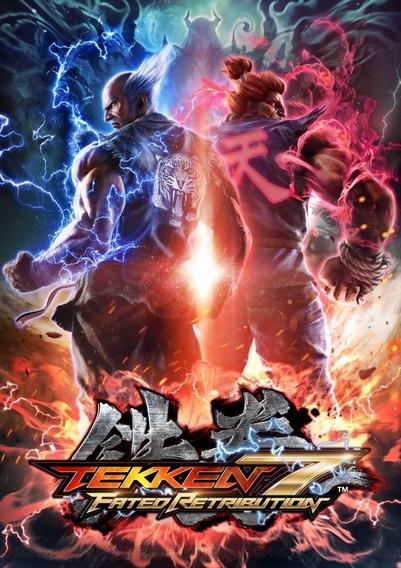 Tekken 7 (mídia Física) Pc - Dvd Frete Gratis