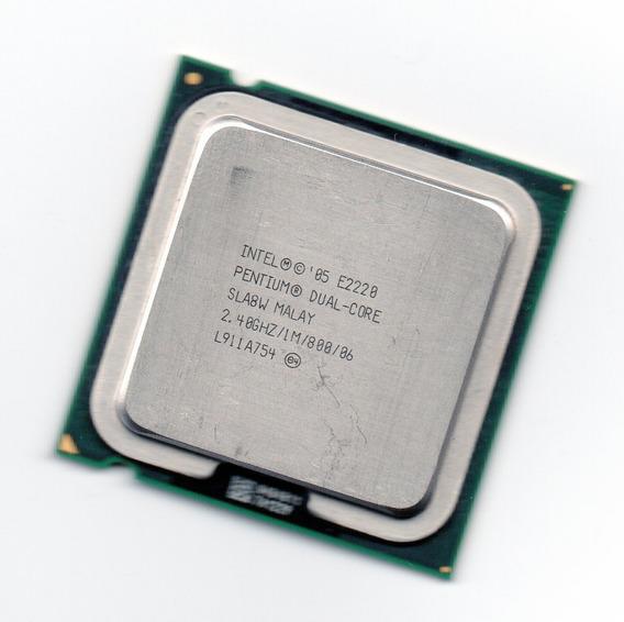 Processador Intel Dual Core E2220 2.40ghz Lga775 1mb + Frete