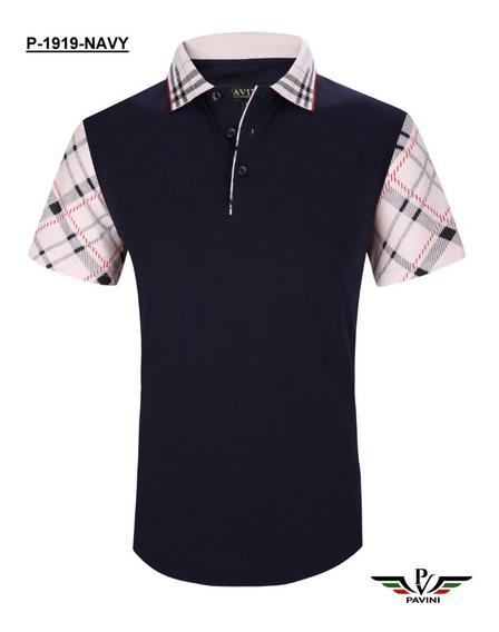 Playera Polo Hombre Marca Pavini P1919 Moda Fashion 4b