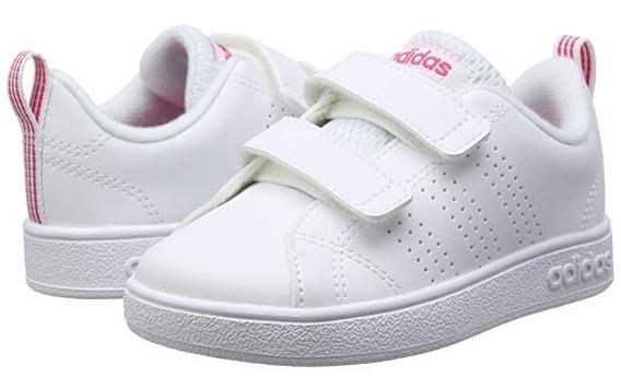 Tenis adidas Niña Bebe Advantage Escolar Blanco Pegol Origin