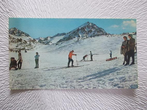 8302- Postal Mendoza, Cancha Esqui De Vallecitos