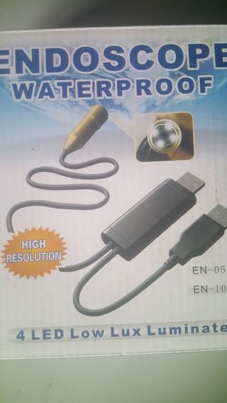 Endoscopio Usb A Prueba De Agua 5 Metros