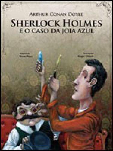 Imagem 1 de 1 de Sherlock Holmes E O Caso Da Jóia Azul